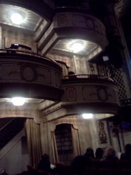Cort Theatre box seats