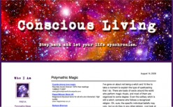 Another one of my blog designs.