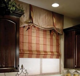 These are regular Roman shades
