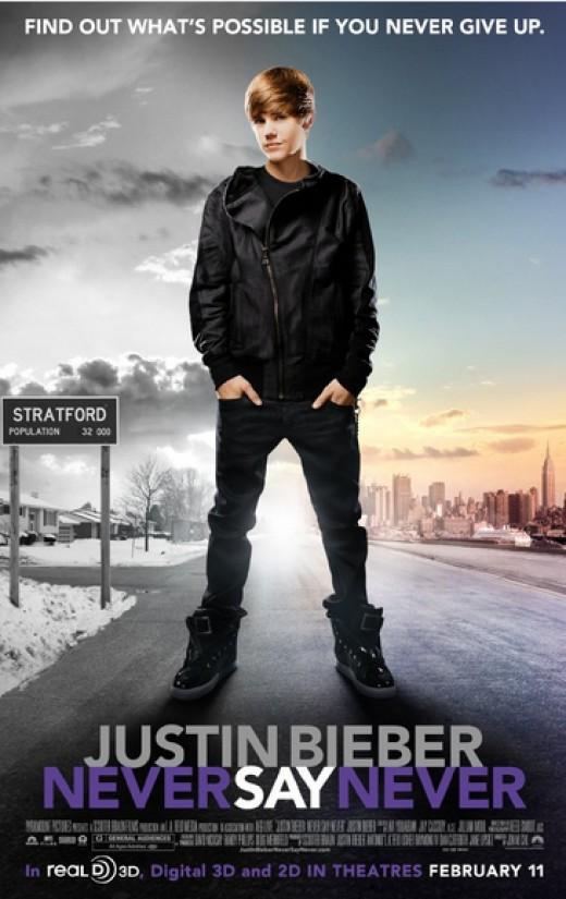 Justin Bieber in the beginning