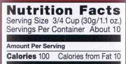 Understanding Nutritional Labels Rules