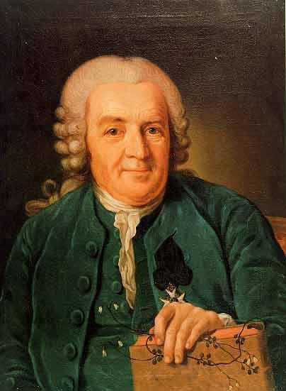 Carolus Linnaeus, by Per Krafft
