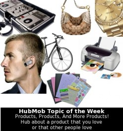 HubMob Weekly Topic: Products, Products And More Products!