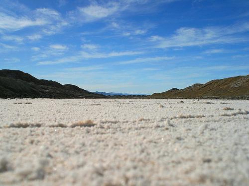 Salt Evaporation Ditches