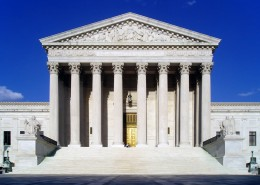 West face of the United States Supreme Court Building