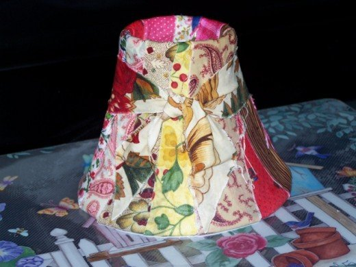 Lamp Shade Craft Project
