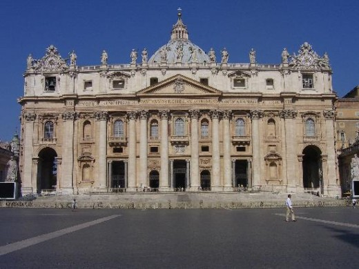 St Peter basilica, is where the highest leaders of the Christian clergy are; they are supposed to guide the rest of the clergy, but today there are some real problems there and they don't seem to be able to solve them.