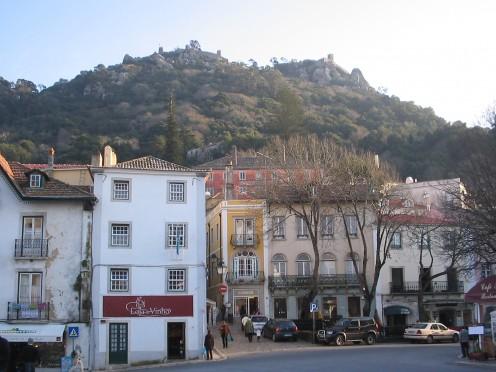 Sintra- around the main square