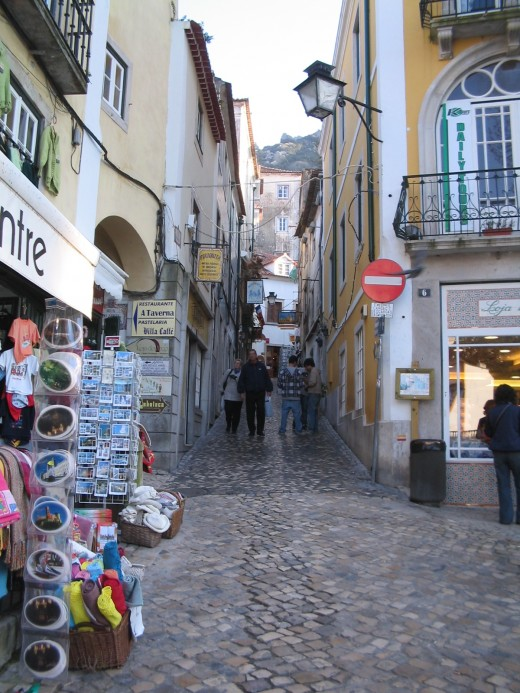Sintra's small streets
