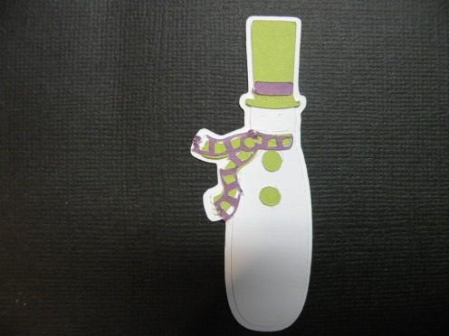 Snowman assembled