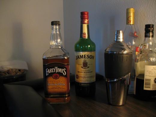 Mid Shelf Base Liquors