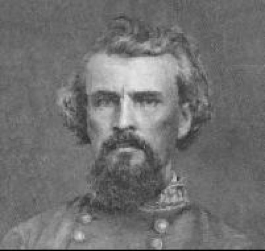 Nathan Bedford Forrest, the KKK First Grand Wizard.  Why are streets named for this man?