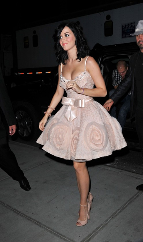 Katy Perry in Zuhair Murhad dress