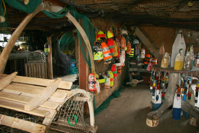 Inside The Buoy Shop