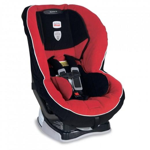 Britax Marathon 70 Convertible Car Seat - Crimson Color