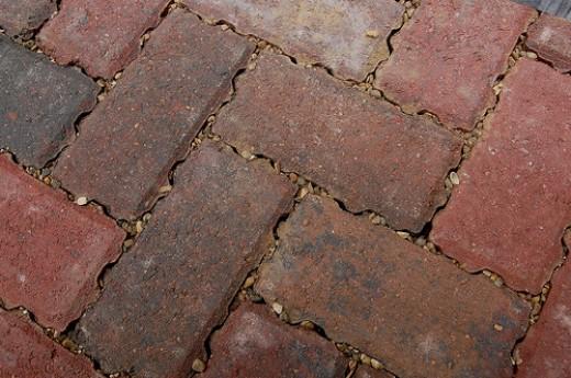 Permeable pavers, by thingermejig