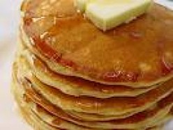 Super Easy Homemade Buttermilk Pancakes