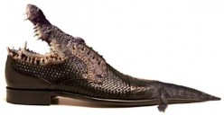 CrocoGator Shoes Blues