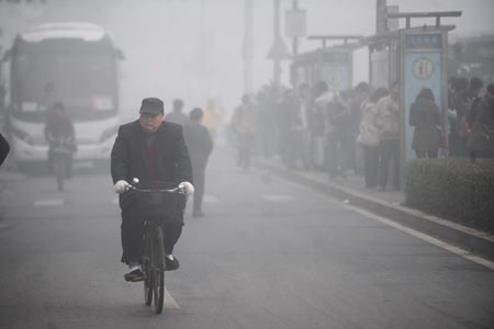 WantChinaTimes shows pollution in Beijing. America has the EPA to prevent this from happening here, until the politicians close the agency.