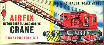 Airfix plastic model kit of 15 ton Diesel breakdown crane - if you had one of these in its original box it would be worth more unmade!