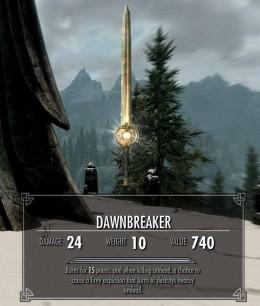 Skyrim Dawnbreaker