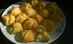 Appetizers for the Kitchen Novice - easy Chicken Puffs for Starters