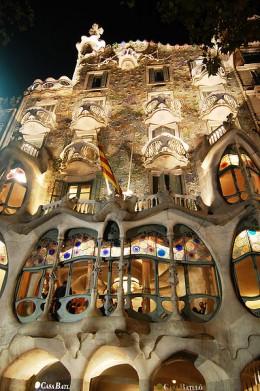 Antonio Gauidi's Casa Batlló in Barcelona