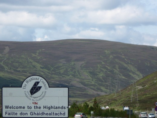 I wanted to go to the Highlands... So I went to the Highlands!
