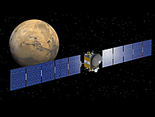 NASA's Dawn spacecraft, launched on Sept. 27, 2007 to study the Asteroid Belt between Mars and Jupiter in hopes of mining.