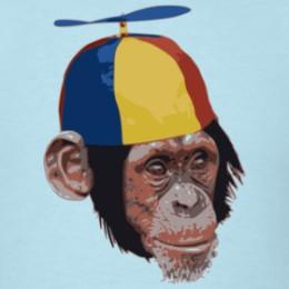 propeller monkey t-shirt teetower.com