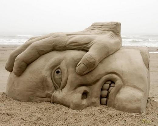 Sand model