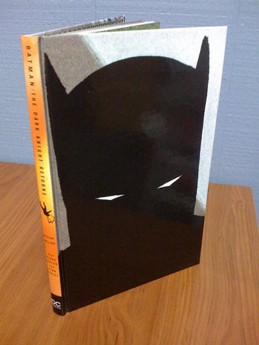Frank Miller's Batman: The Dark Knight Returns hardcover version.