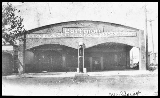 The Coffman Garage in Bowie TX