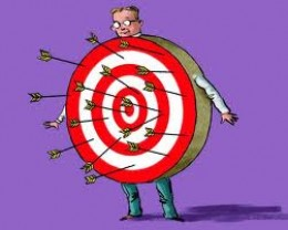 Do you perpetually suffer the 'slings and arrows of misfortune'?   Then set to to change your self image and you'll cease to be a target.