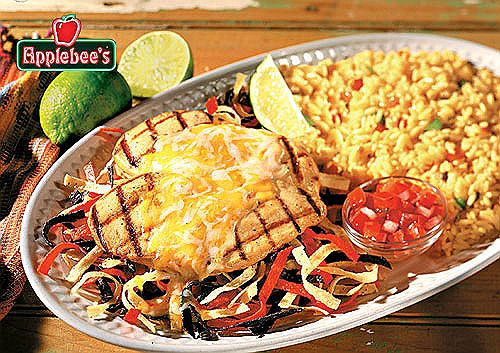 I got the idea from a dish I loved to eat as long as I know this restaurant: http://www.applebees.com/menu/entrees/chicken/fiesta-lime-chicken