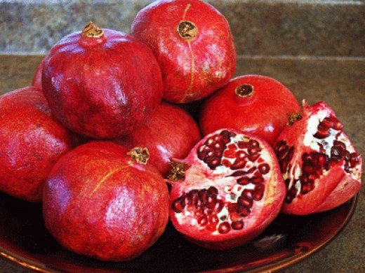 Pomegranates add color and texture to salads and provide high levels of anti-oxidants.