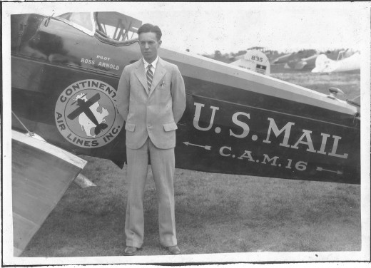 I think, I am not claiming, but I think this is a picture of Charles Lindbergh when he was around 18.