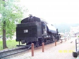 1880 Steam Train