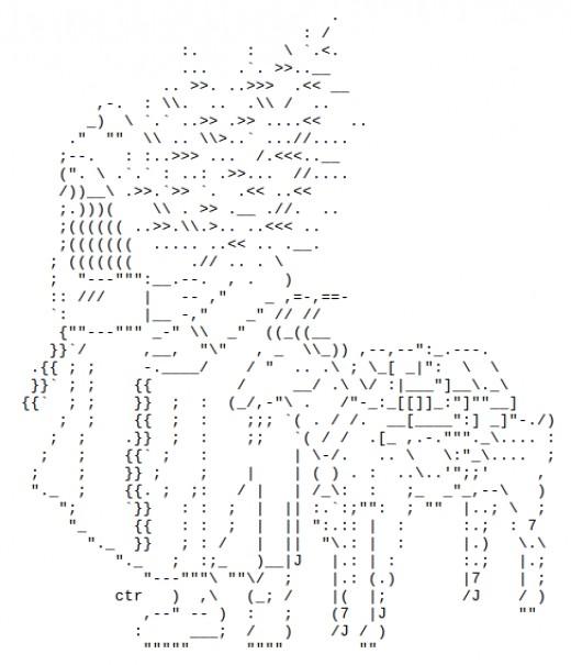 Christmas tree ascii art facebook wroc awski informator for Ascii decoration