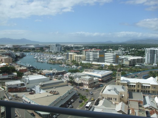 Overlooking Townsville