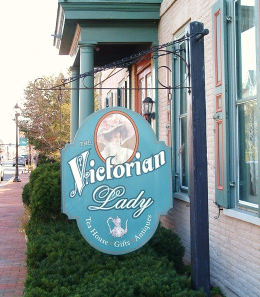 The Victorian Lady is an upscale Tea House in historic Milford.