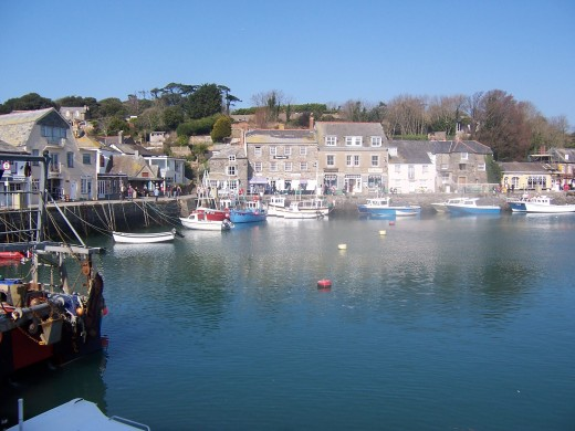 Beautiful Padstow Harbor
