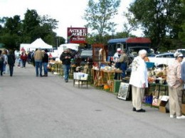 Flea markets: the communal kings of garage sales.