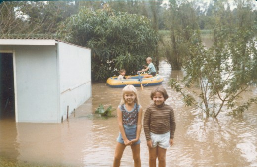 1974 flood imagine the fun we had. BUT what happens next shocked us.