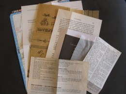 Mixed media paper ephemera
