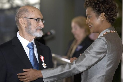 Dr. Henry Morgentaler receives Order of Canada