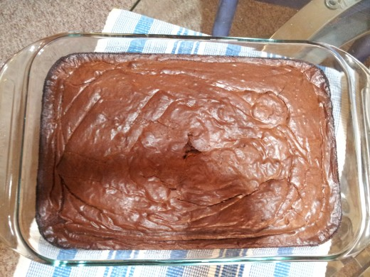 Yummy yummy brownies I made for Thanksgiving this year.