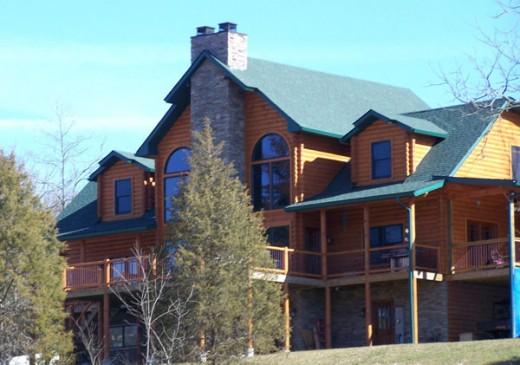 My dream log cabin