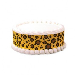 How to Make a Designer Leopard Print Cake Super Easy!