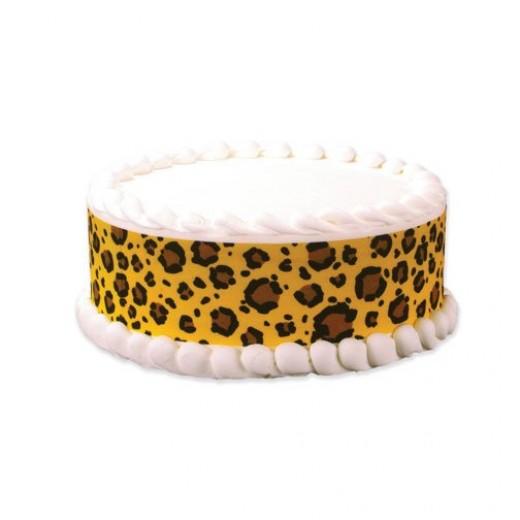 how to make cheetah print cake